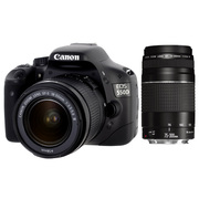 Canon 550D 18-55mm + 75-300mm